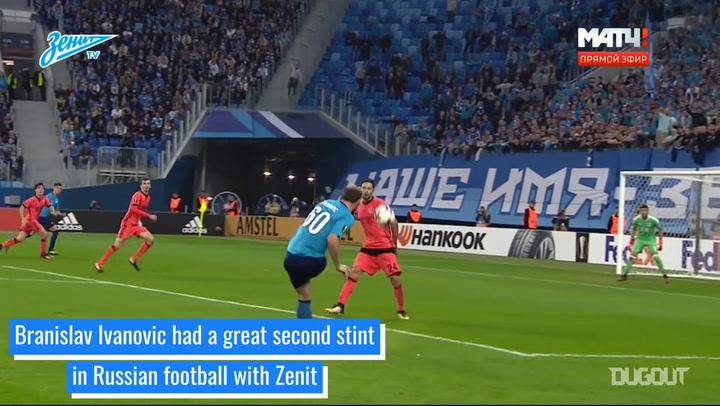 Branislav Ivanovic's Zenit career