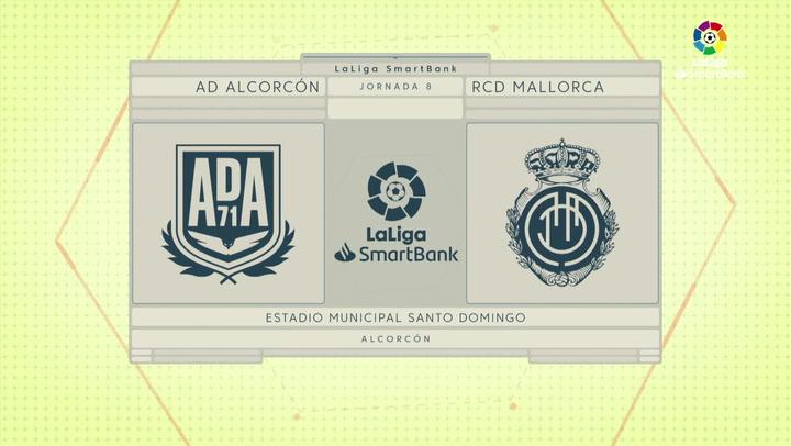 LaLiga Smartbank (Jornada 8): Alcorcón 0-2 Mallorca