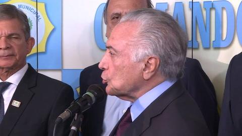 Policía Federal de Brasil pide imputar a Temer por corrupción