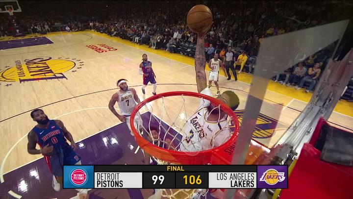 Resumen de la jornada de la NBA del 5 de enero de 2020