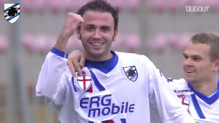 Giampaolo Pazzini's hat-trick vs Lecce