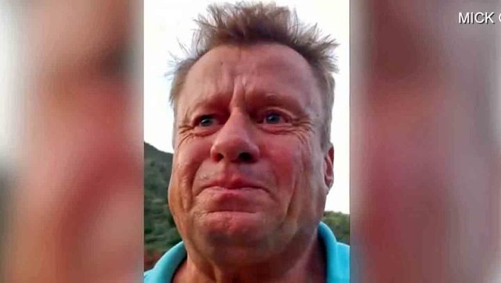 Mick (55) overlevde tre dager i ørkenen på regnvann og urin