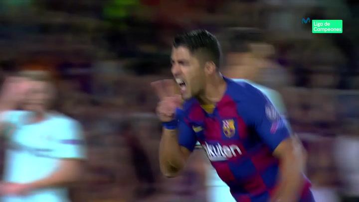 Champions League: Barça - Inter. Gol de Luis Suárez (1-1)