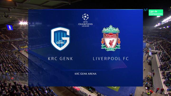 Champions League: Resumen y Goles del Partido Genk - Liverpool