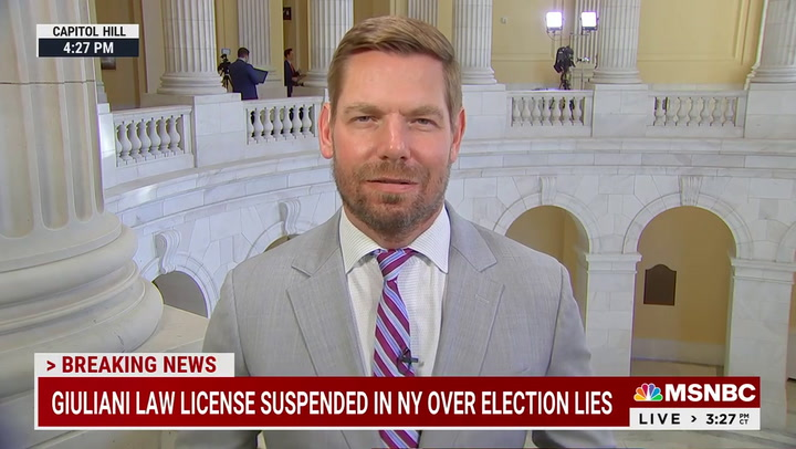 Swalwell: The Republican Party 'Is Rolling With the Cop Killers and Not Standing with the Cops'
