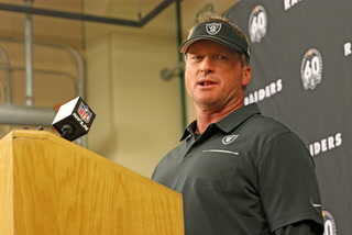 Jon Gruden Monday Press Conference – FULL PRESSER