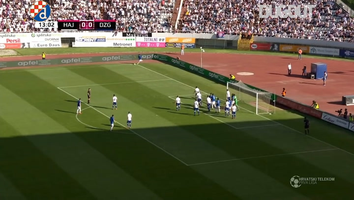 Highlights: GNK Dinamo Zagreb 2-1 HNK Hajduk
