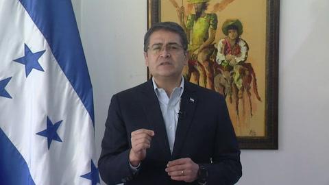Presidente hondureño rechaza ser estado
