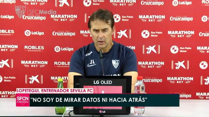 """Lopetegui: """"Confío en que Atlético y Real saldrán a ganar"""""""
