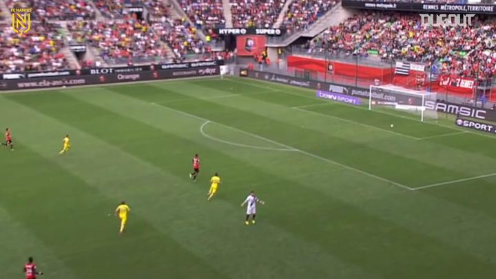 Lucas Deaux's unusual goal against Rennes