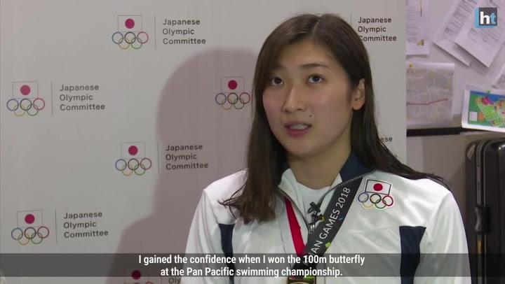Rikako Ikee, en los pasados Juegos de Asia