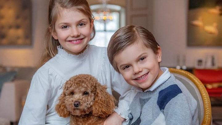 ¡Cómo ha crecido! El gran cambio de Estelle de Suecia en su noveno cumpleaños