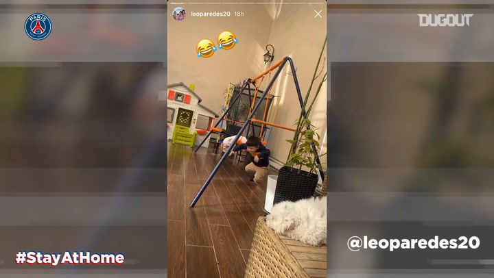 Stay at home: Stories of the day with Cavani and Paredes
