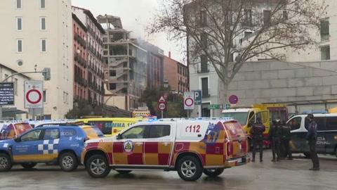 Explosión en el centro de Madrid deja muertos y heridos