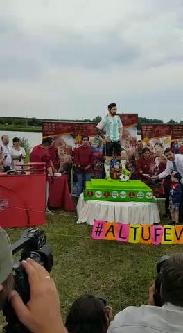 Una kermés para festejar el cumpleaños de Messi