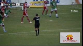 ¡GOOL DEL MARATHÓN! Al minuto 85 Mario Martínez desde el manchón pone el 2-1 ante Vida