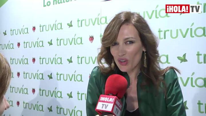 Nieves Álvarez: \'Me gusta volver a la pasarela, pero solo en ocasiones especiales\'