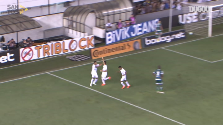 Yuri Alberto seals Santos' victory over Luverdense