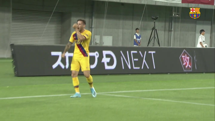 Resumen del Vissel Kobe 0-2 Barça de la Rakuten Cup