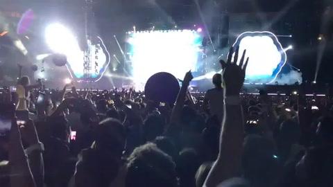 La potente versión de Coldplay del clásico de Soda De música ligera