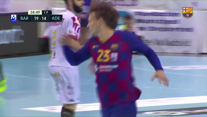 El resumen del Barça - Ademar León (39-30), semifinal de la Copa ASOBAL