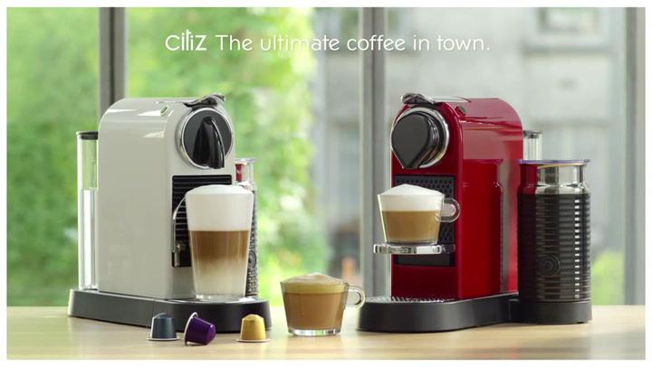 Preview image of Nespresso Citiz Automatic Espresso Machine With Ae video