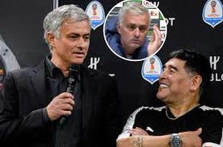 Mourinho y la inesperada anécdota que contó sobre Diego Maradona y sus llamadas