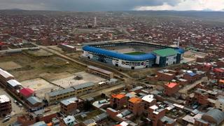 Jugar al fútbol a 4.000 metros de altitud en Bolivia