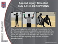 13 RR - Second Injury Timeout