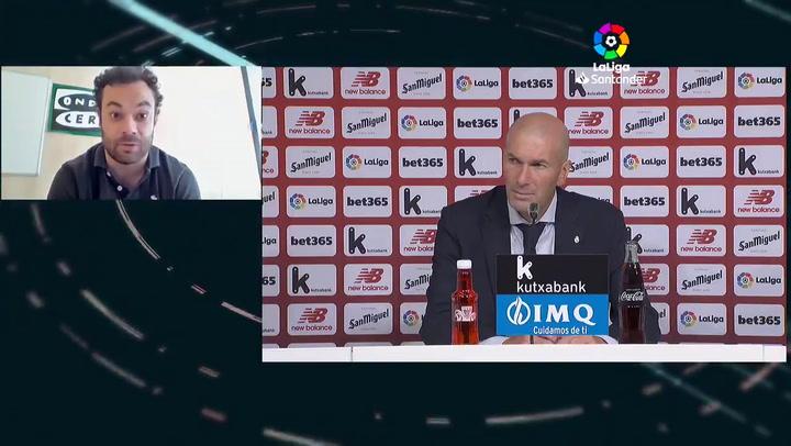 """Zinedine Zidane ante la ausencia de James Rodríguez: """"es él que ha querido quedarse fuera por tema suyo y ya está"""
