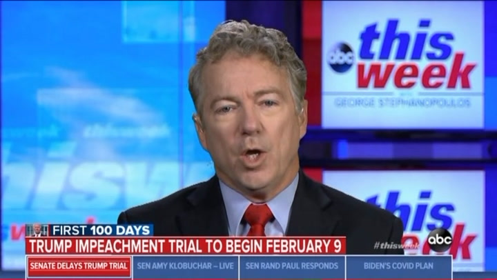 Rand Paul to Stephanopoulos: You Are Not a Journalist, You Are a Liberal Saying All 'Republican Are Liars'