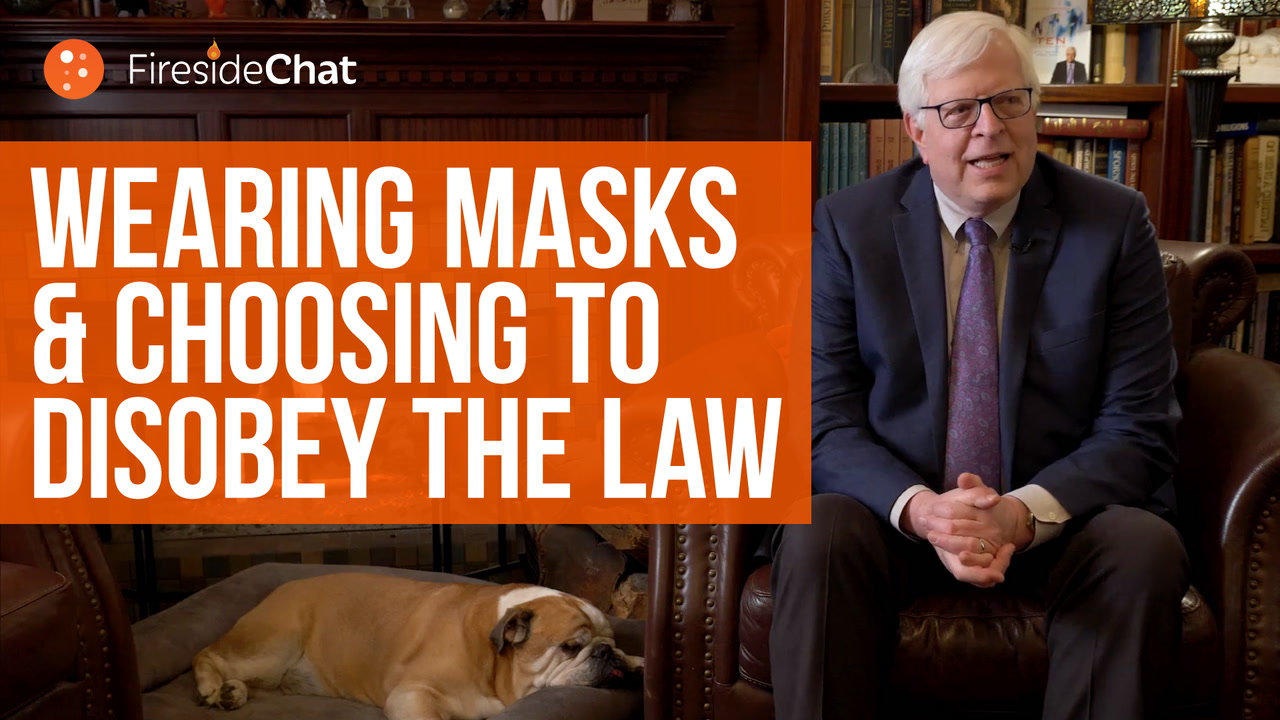 Wearing Masks and Choosing to Disobey the Law