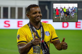 La bonita iniciativa de Luciano Emilio con deportistas  discapacitados de Honduras