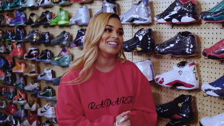 Lauren London: Sneakers