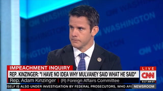 Kinzinger: Syria 'Reminds Me of Somalia and South Vietnam'
