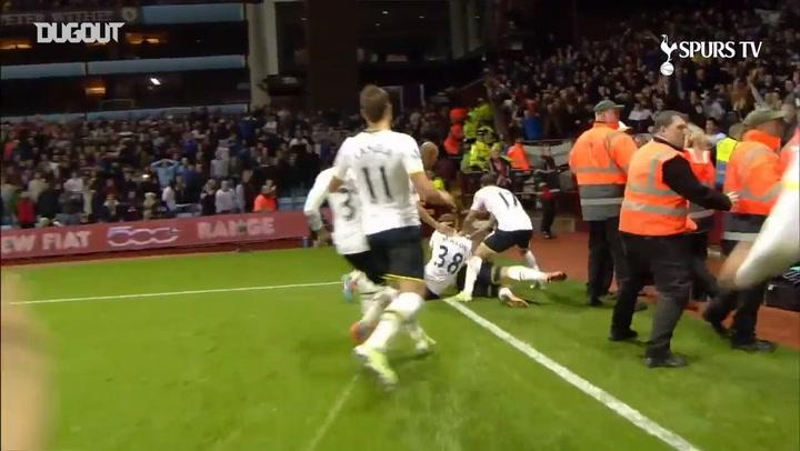Harry Kane's impressive free-kick sees off Aston Villa