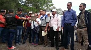 Pobladores se manifiestan por proyecto habitacional en La Tigra