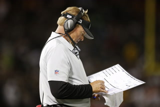 Gruden reflects on his 100th Career win before preparing for the Chiefs – VIDEO