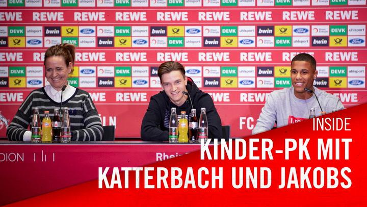 Kinder PK mit Katterbach und Jakobs