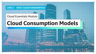 Chapter 1: Cloud Consumption Models
