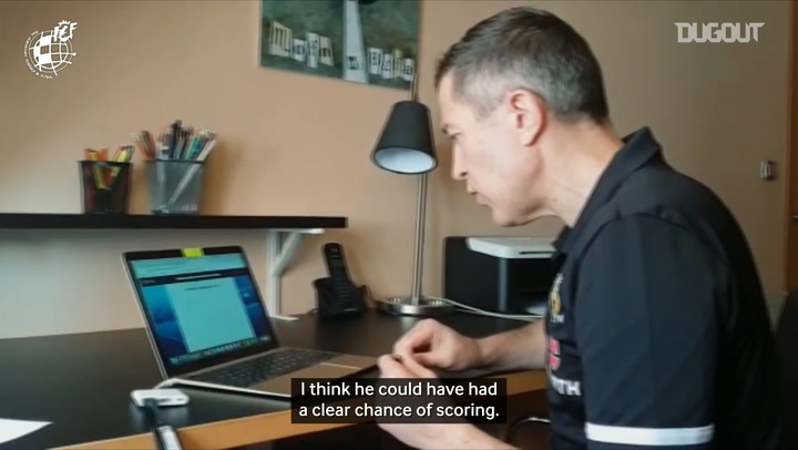 Video assistant referees conduct online UEFA training
