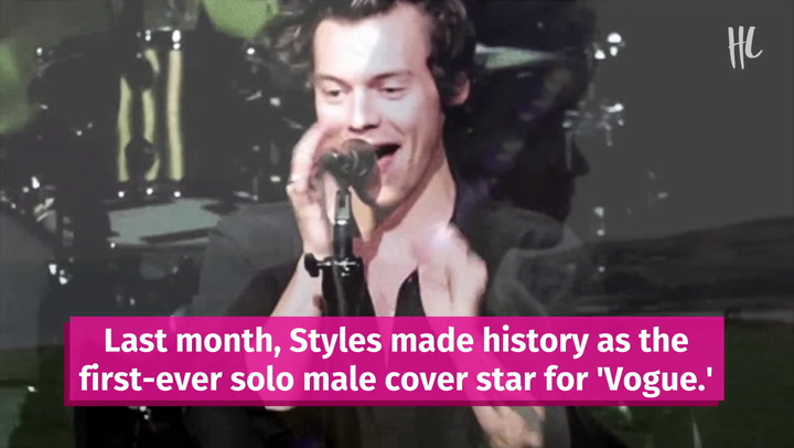 Harry Styles Reacts To Candace Owens Diss Over His Vogue Cover Dress