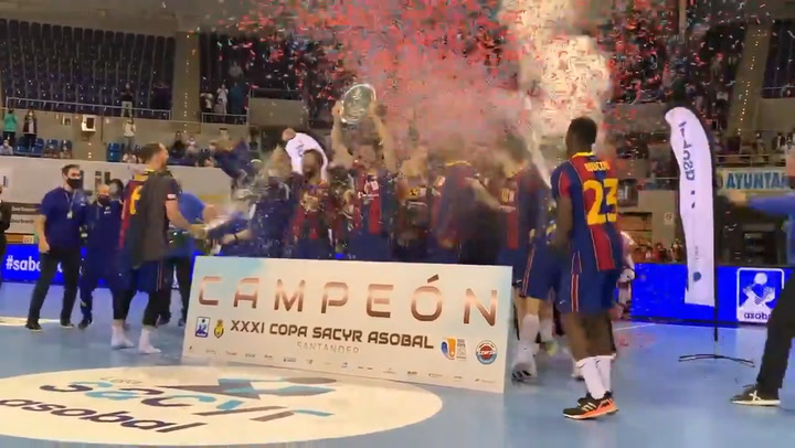 El Barça gana otra Copa ASOBAL antes de afrontar la Final Four