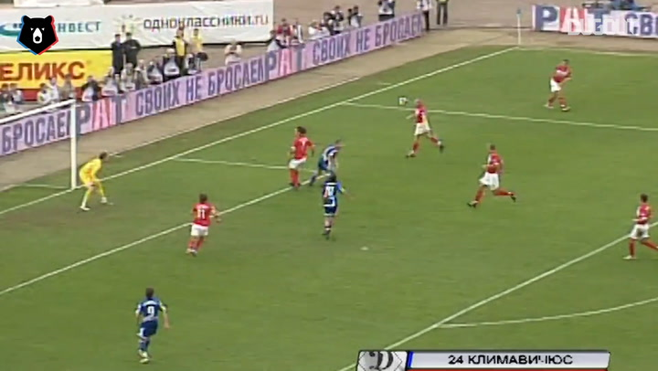 Top 10 Goals From Dynamo vs Spartak