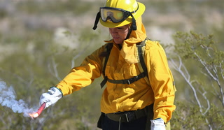 Learning lifesaving skills in advance of fire season