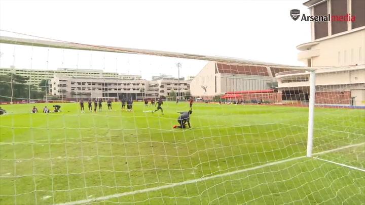 Petr Čech's Best Training Moments
