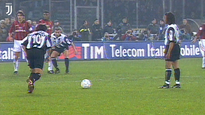 Del Piero's superb free-kick sinks Milan