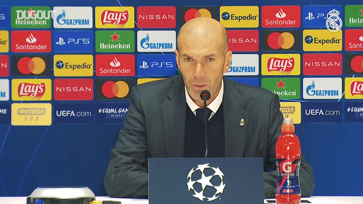 Zinedine Zidane: 'We have to show our character and pride'