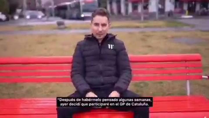 Jorge Lorenzo correrá el GP de Catalunya