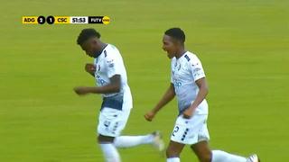 Hondureño Elmer Guity marca un golazo con el Cartaginés en el fútbol de Costa Rica